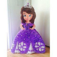 c947fc288 como hacer piñatas de princesa sofia