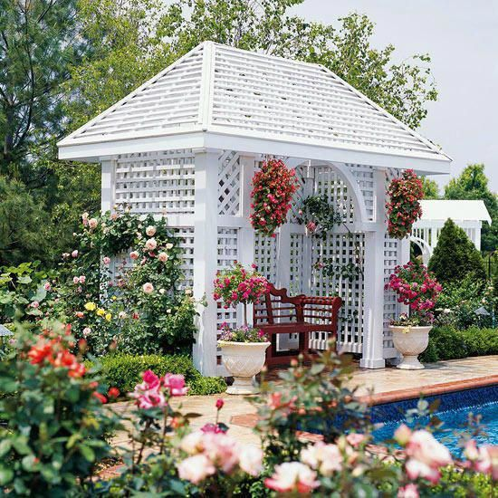 Pergola Elevation Designs: Take A Look At This Wonderful Photo