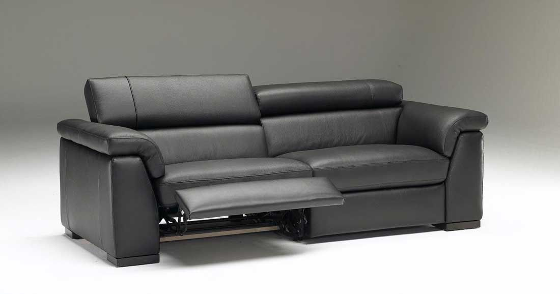 grey leather reclining sofa sets | Photo Gallery of the Exclusive Black Leather Recliner Sofa  sc 1 st  Pinterest & grey leather reclining sofa sets | Photo Gallery of the Exclusive ... islam-shia.org