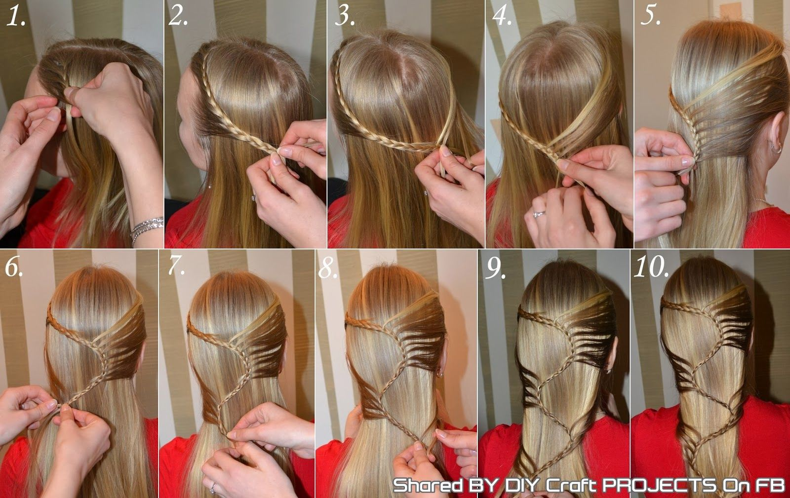 Astonishing 1000 Images About Braids On Pinterest Unique Braided Hairstyles Hairstyles For Women Draintrainus