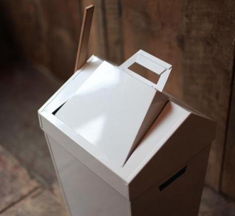 Dustbin, a combination garbage bin, sweep and dustpan @ Brendan Ravenhill   $160.00