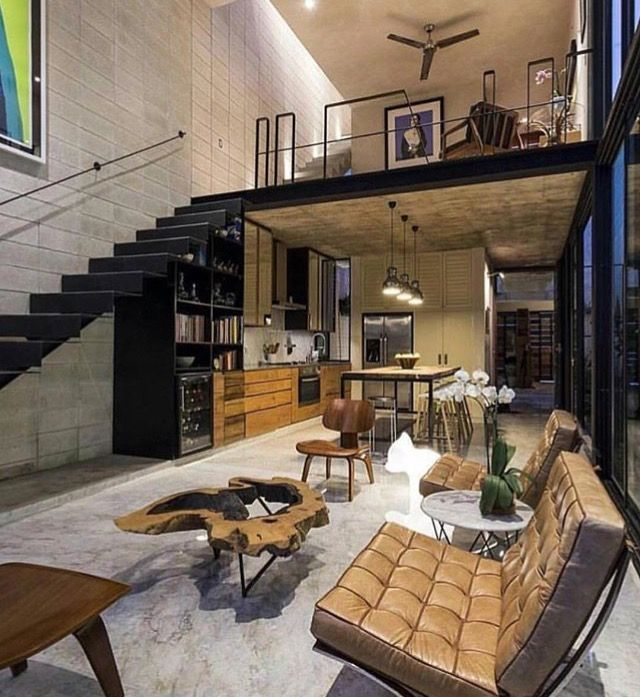 Industrial Home Design Spectacular Modern Industrial Home: Industrial And Minimal Designed Loft Space
