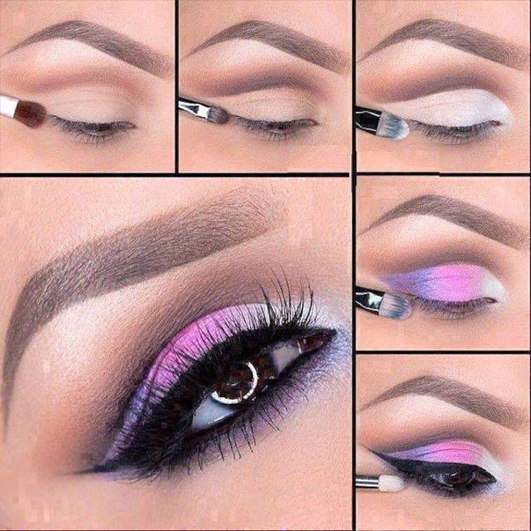 4 tutoriales de maquillaje de ojos, ¡descúbrelos! | Tutorial de ...
