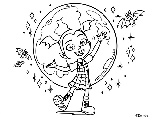 Free Printable Disney Junior Vampirina Coloring Pages For Kids Unicorn Coloring Pages Cartoon Coloring Pages Disney Coloring Pages