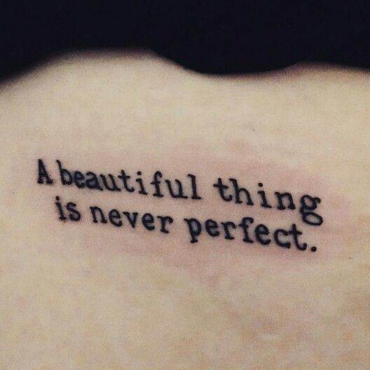 Tattoo Quotes Self Confidence