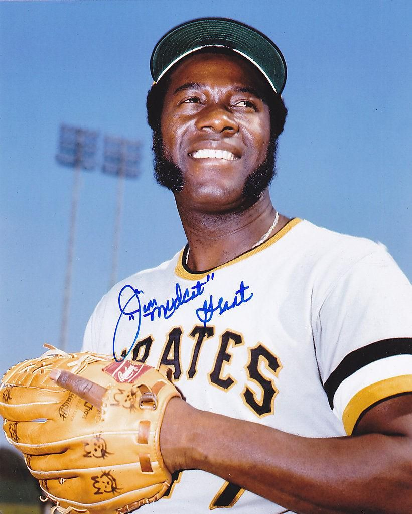 Jim 'Mudcat' Grant, sporting hand-drawn kitty-cat heads on his glove,  during his days as a Pittsbur… | Pittsburgh sports, Pittsburgh pirates  baseball, Sport fitness