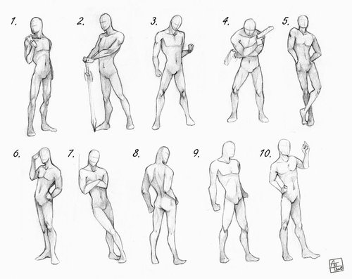 Male Full Body Reference Drawing Google Search Drawing Poses Male Male Body Drawing Anime Poses Reference
