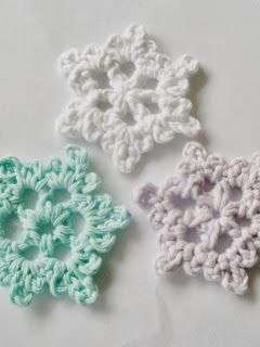 Crochet Patterns For Beginners | Crochet | Crochet snowflake