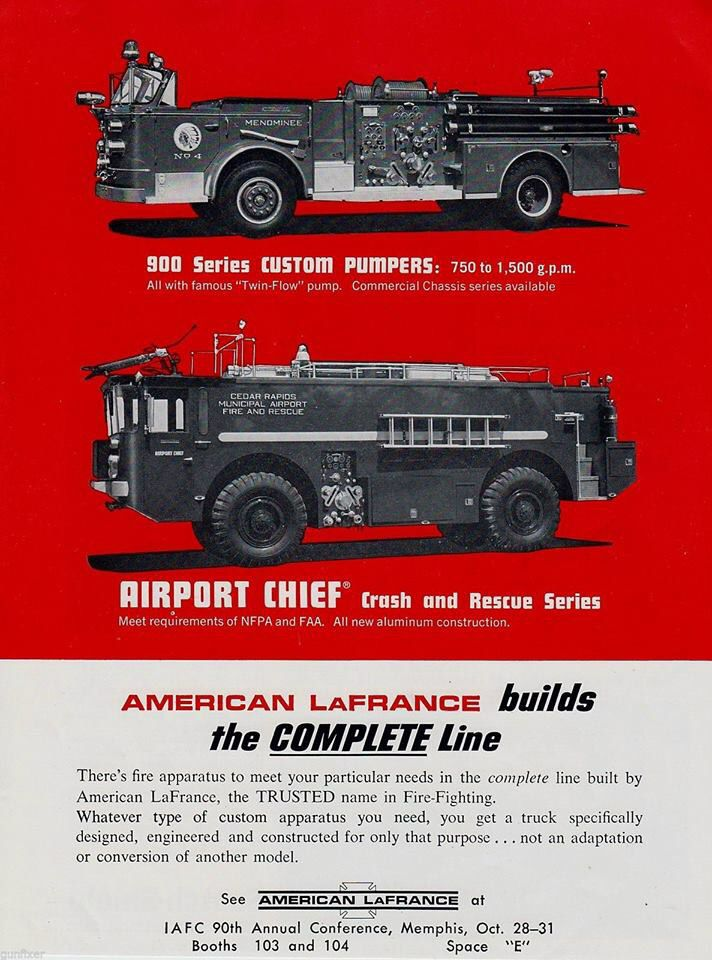Alf Print Magazine Ad Fire Trucks Fire Gear Fire Rescue