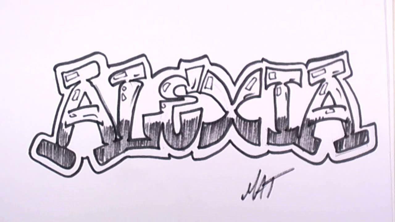 Alexis Graffiti Para Portada