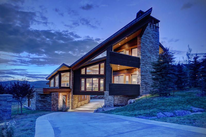 architecture Utah house Architecture Asymmetry in the Service of fortable Living Park City