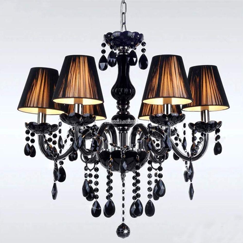 6 LIGHT Crystal Chandelier Modern Ceiling Lamp Hallway Pendant Lighting Fixture #UnbrandedGeneric #EuropeanModernStyle #LivingRoomBedroom