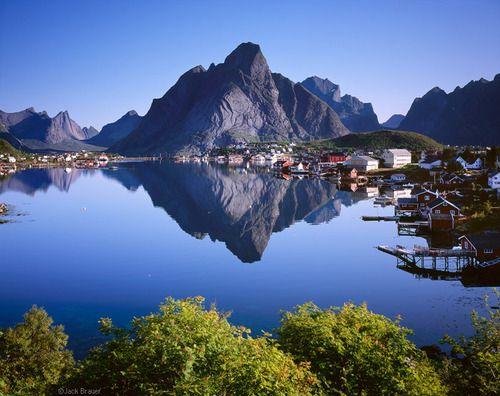 Reflections, Lofoten Islands, Norway