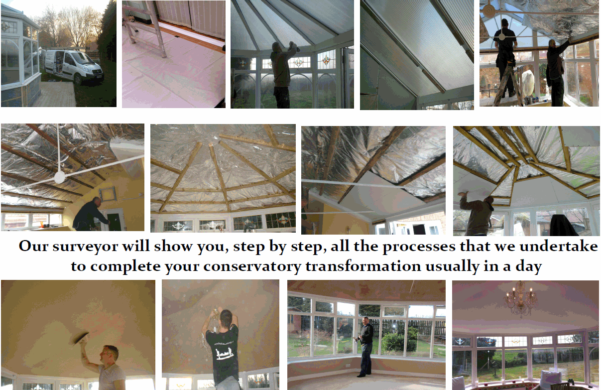 When The Work Is Completed They Will Remove All Protective Coverings Clean All Work Ar Conservatory Roof Conservatory Roof Insulation Conservatory Insulation