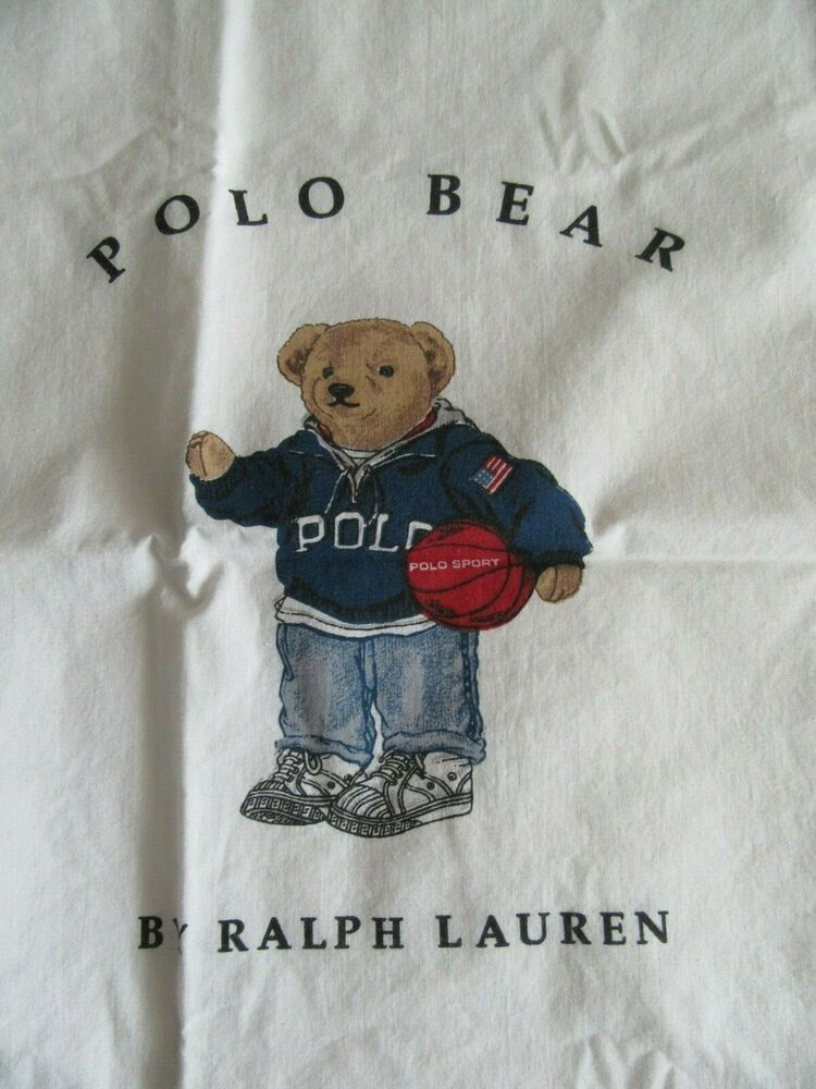 vintage ralph lauren polo bear