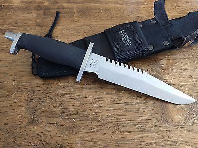 Vintage Gerber Bmf Survival Hunting Knife Portland Oregon