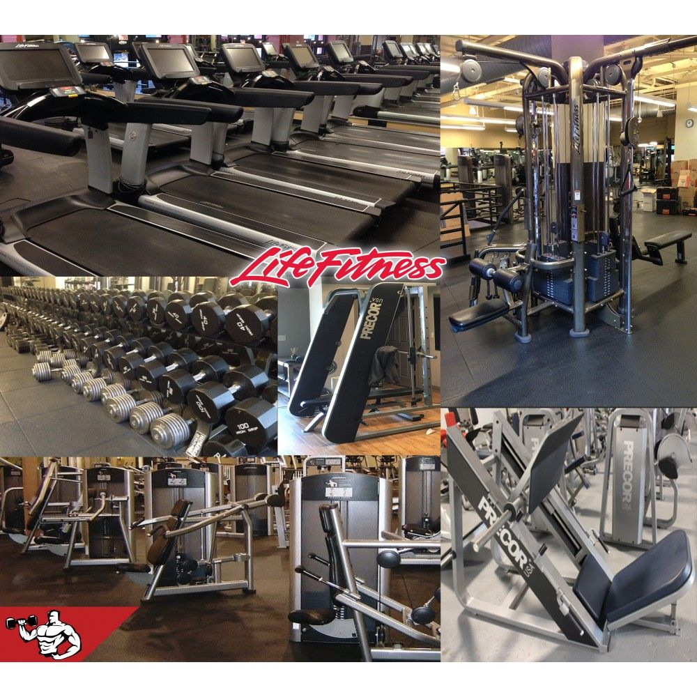Life fitness signature complete gym package gym free