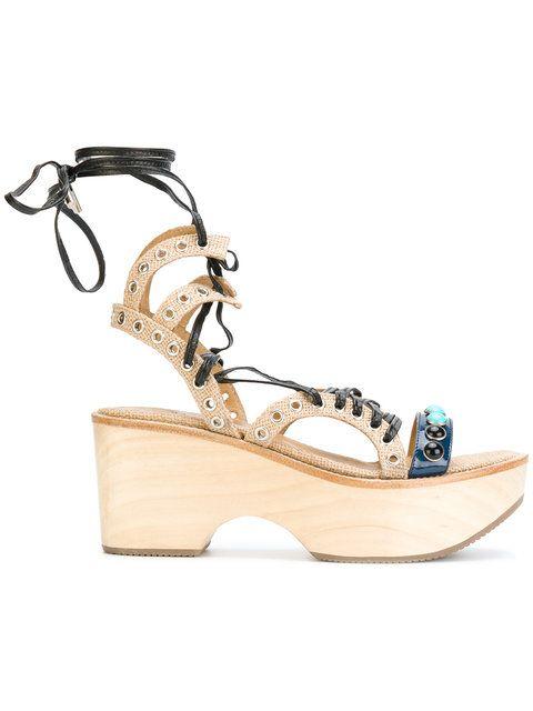 embellished sandals - Blue Toga Archives U7NXx