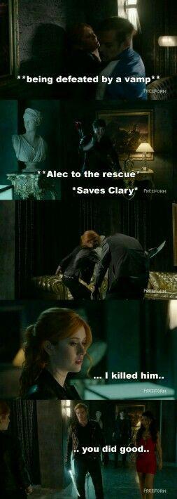 Season 1 Episode 3: Alec, Izzy, Jace, Clary | shadow hunters