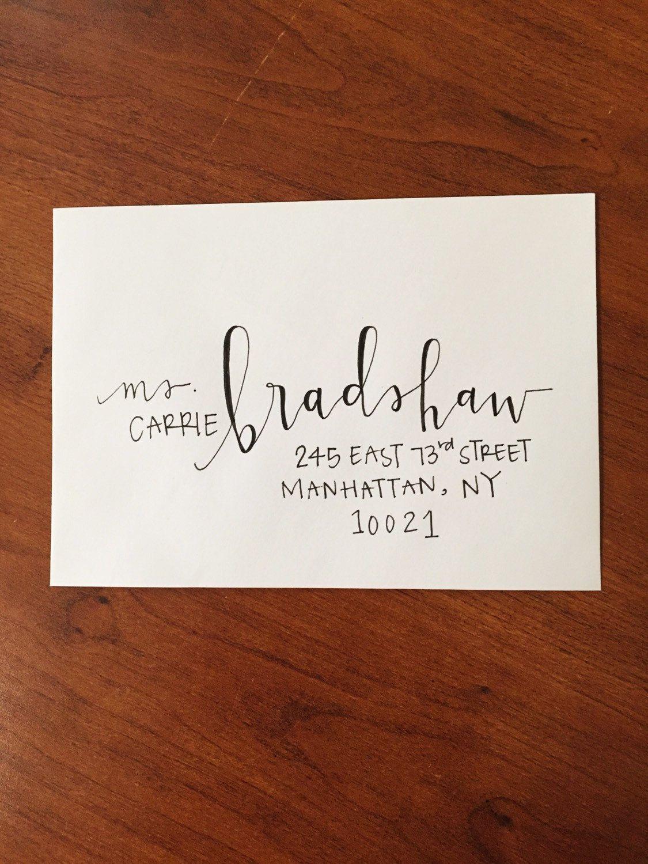 Custom Calligraphy Envelopes Envelope Addressing Calligraphy Wedding Envelopes Hand Addressed Envelopes Calligraphy Address Envelopes
