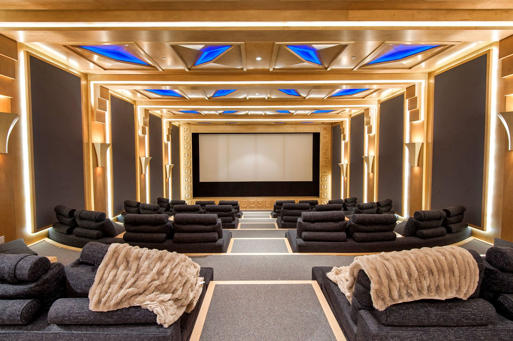 Inside Luxury Mansions beverly hills luxury home theatre | all things luxury | pinterest