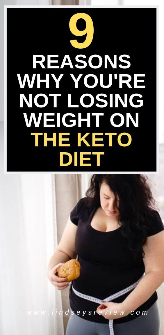 Not losing weight fast on keto