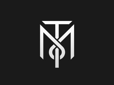 Tony Montana Monogram Wallpaper Taco Man Tony Montana Initials Logo Design