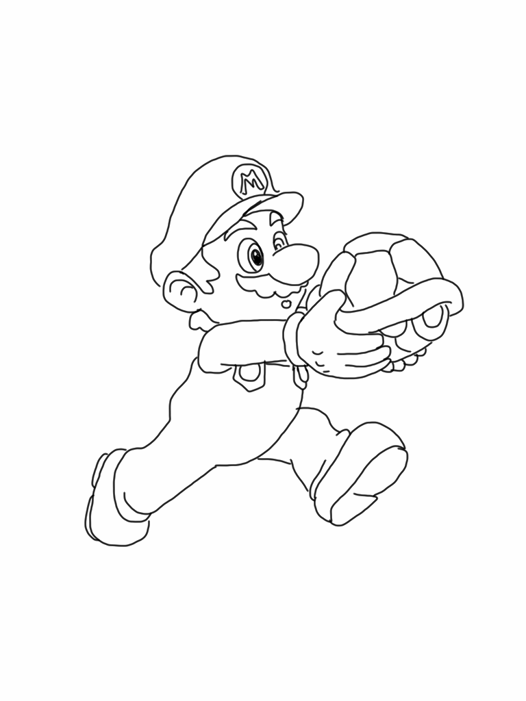 christmas yoshi coloring pages - photo#19