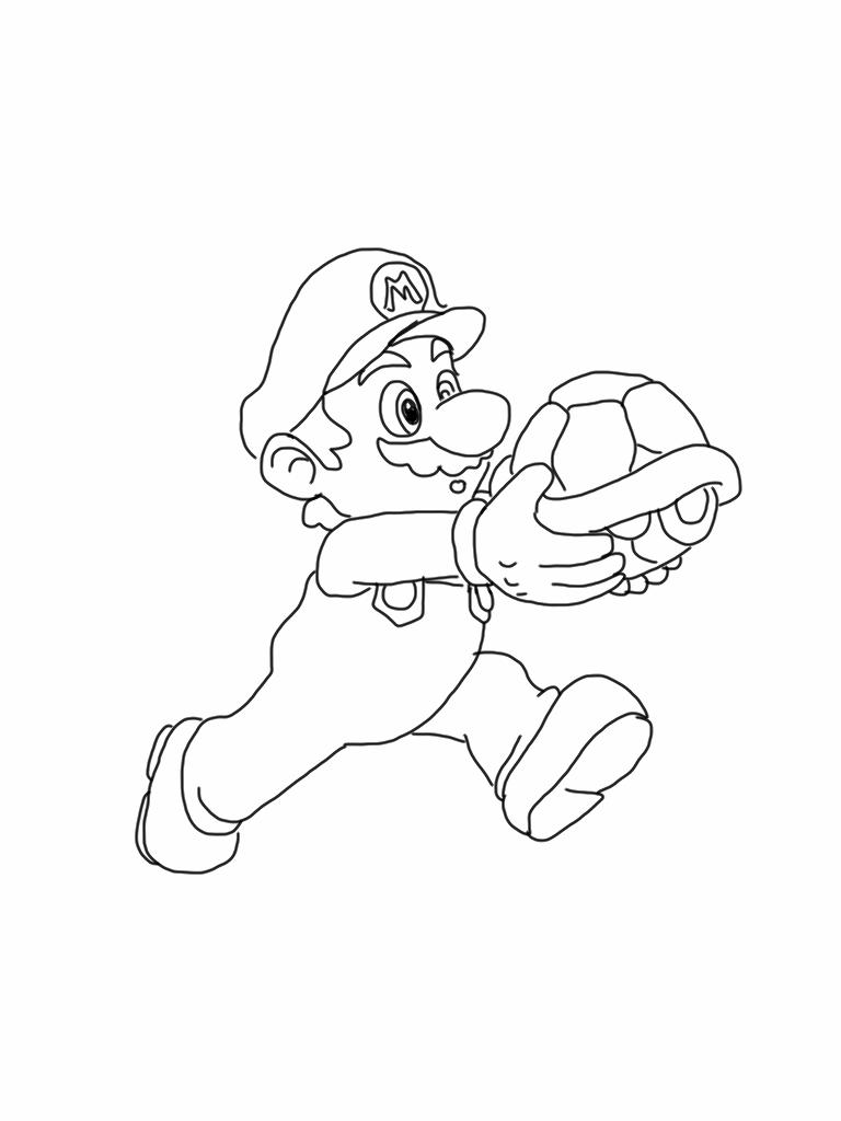 Mario Coloring Page | Luigi and mario | Pinterest