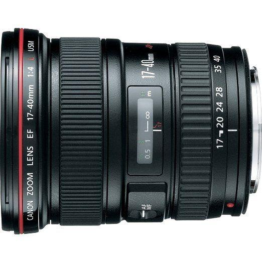 Amazon.com: Canon EF 17-40mm f/4L USM Ultra Wide Angle Zoom Lens for Canon SLR Cameras: CANON: Camera & Photo