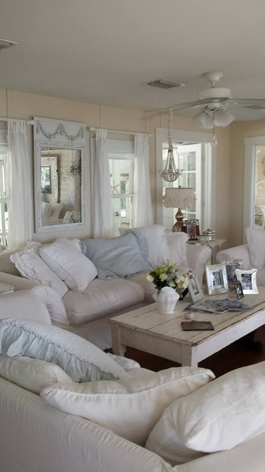 shabby chic small living room ideas contemporary white furniture 8 that will maximize your space use these gorgeous as a starting point for next decorating project