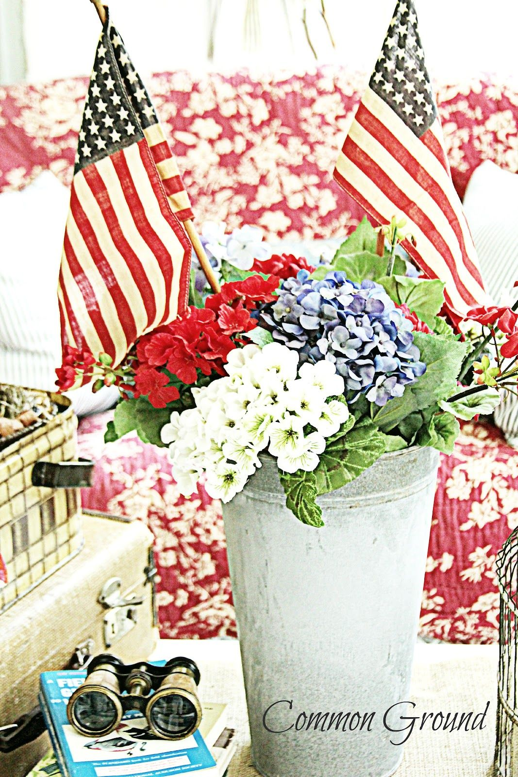 Three different colors for flowers red white and blue your three different colors for flowers red white and blue your choice of container mightylinksfo