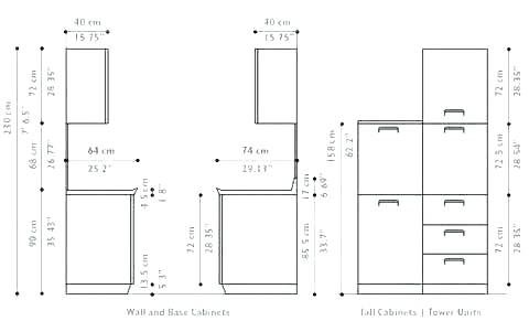 Ikea Kitchen Cabinet Measurements