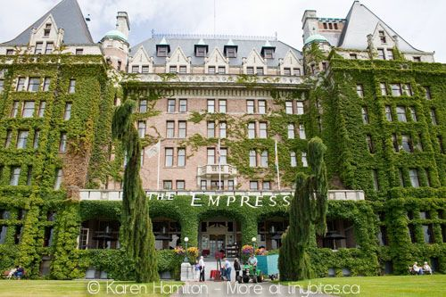 Empress Hotel Victoria Bc Our High School Took A Group Here For An Outing Tea I Also Enjoyed With Family