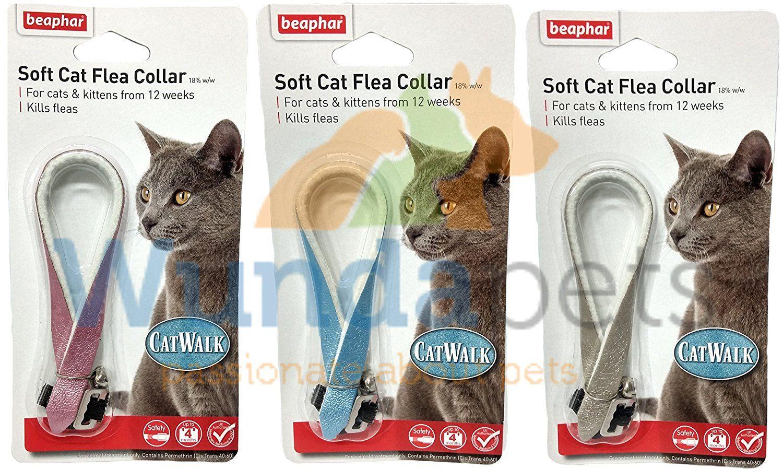 BEAPHAR CATWALK FASHION 1 YEAR PROTECTION CAT KITTEN FLEA