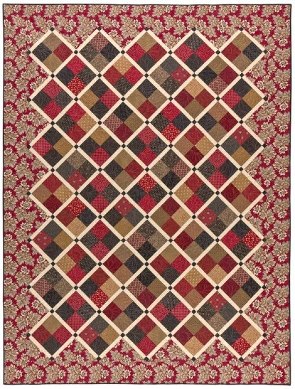 Savannah - A Civil War inspired quilt designed by Paula Barnes for ... : savannah quilt pattern - Adamdwight.com