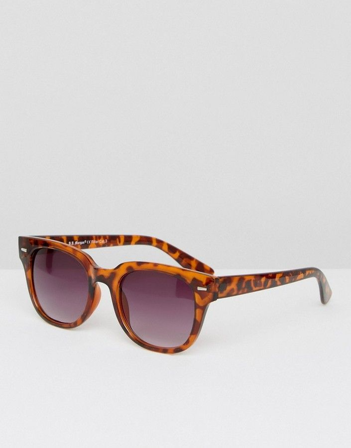 98c4b5ef1a A. J. Morgan AJ Morgan Square Sunglasses In Tortoise