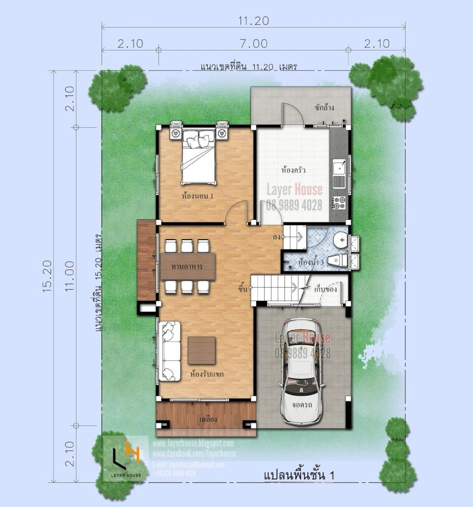 House Plans Idea 7x11 M With 4 Bedrooms Sam House Plans House Plans House Plan Gallery 4 Bedroom House Plans