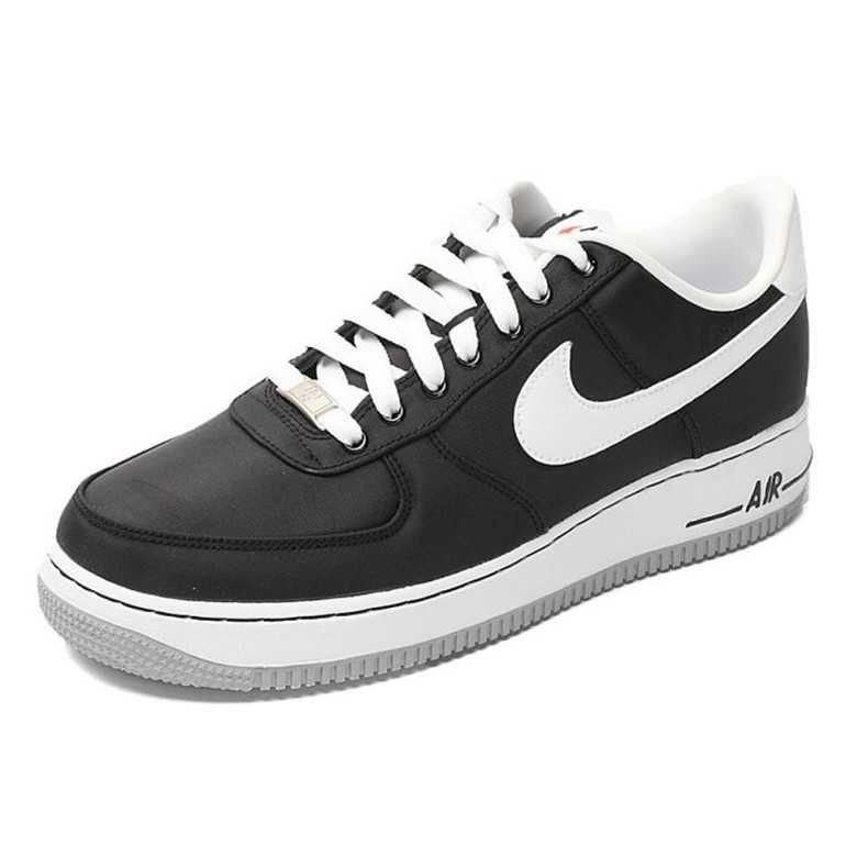 newest collection 612b8 77020 1797   Nike Air Force One Low Herr Wolf Svart Grå Vit SE168776xJOACQwH