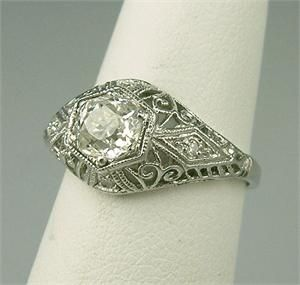 vintage art nouveau rings - Google Search