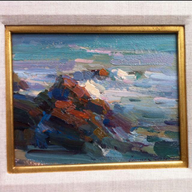 Ovanes Berberian Art Seascape Paintings Painting