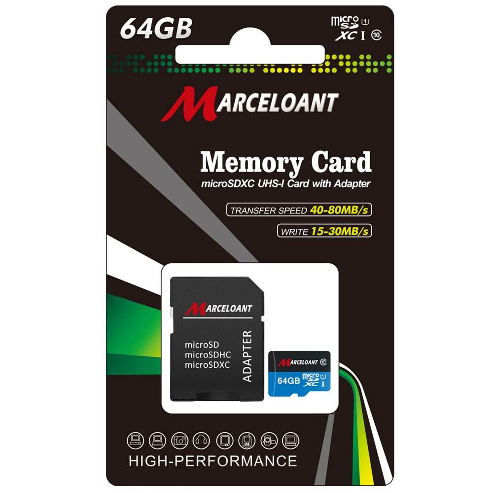 Tf Card 64gb Marceloant Micro Sd Memory Cards Class 10