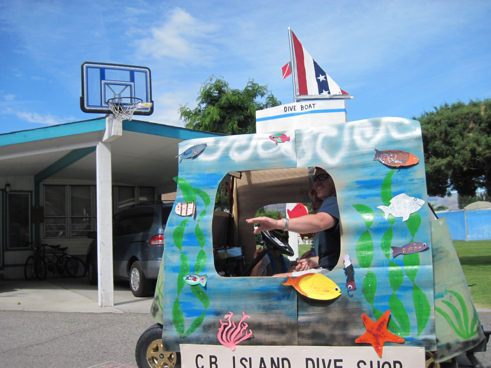 Golf Cart Decorating Ideas For Easter