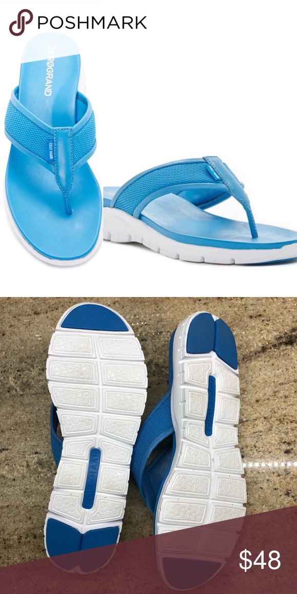 45a91e92a140 Cole Haan Zerogrand sandal Slide into summer with the sleek Cole Haan  Zerogrand thong sandal.