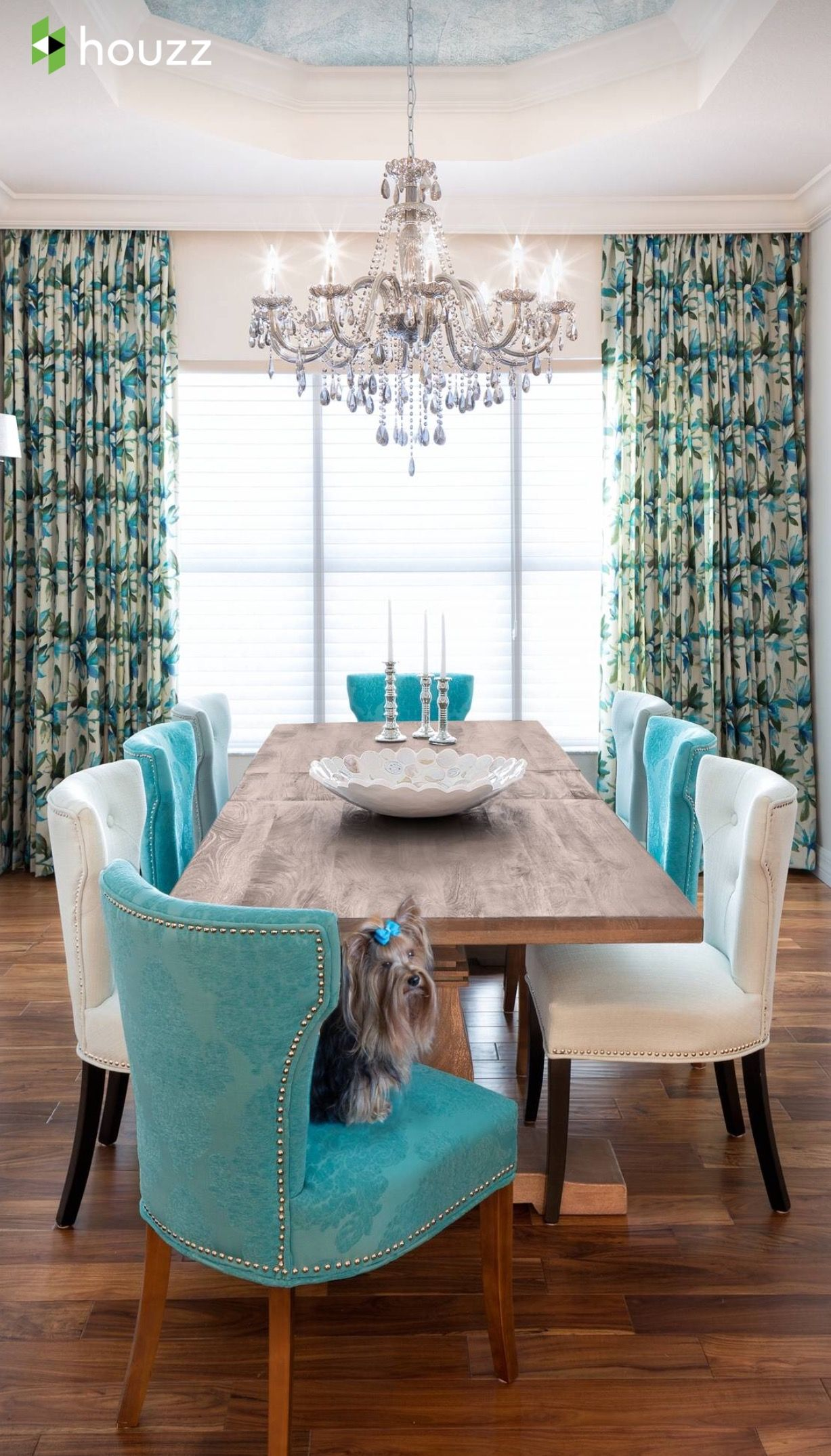Pinnene Flournoy On Tiffany Blue's Sea Foam Teal's Fair Brown And Turquoise Living Room Inspiration