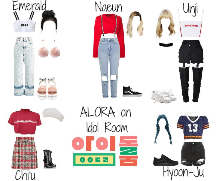 Idol Room Fake K Pop Girl Group Alora Kpop Outfits Outfits Kpop Fashion Outfits