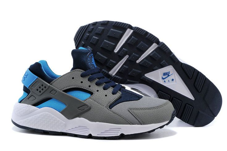 buy online 4119d 16350 Free Shipping Only 69  Nike Air Huarache Dark Grey Hyper Blue Navy