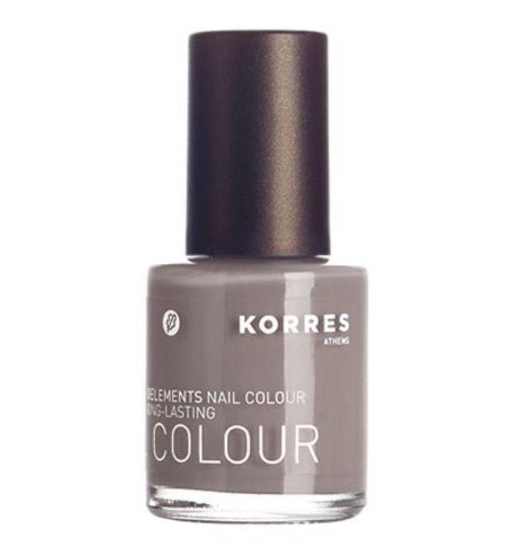 KORRES Nail Polish Colour 94 Light Grey   Acetone & Formaldehyde ...
