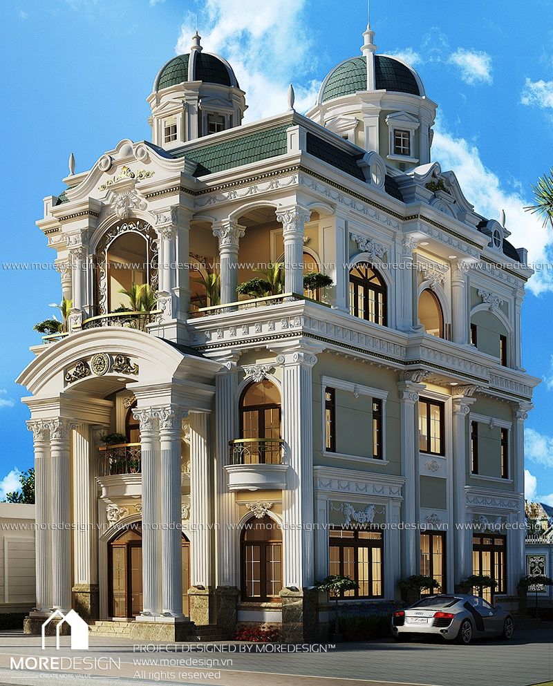 Luxury palace exterior design aesthetic elegance - Interior and exterior design definition ...