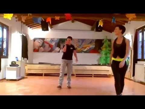 http://www.inspiration2dance.com Andrew Cuerden and Viktoriya Wilton Intermediate Jive Routine 1. Basic in Fallaway 2. Rock Step, Kick Ball Change, Chasse x ...